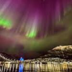 Vollmond in Tromsö @ Tromsø   Troms   Norwegen